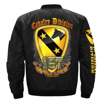 Buy 1st cavalry division, courageous accountable vigilant OVER PRINT JACKET - Familyloves hoodies t-shirt jacket mug cheapest free shipping 50% off
