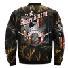 Buy 2nd AMENDMENT, RIGHT TO BEAR AMRS OVER PRINT JACKET - Familyloves hoodies t-shirt jacket mug cheapest free shipping 50% off