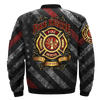 Buy FIRE RESCUE HONOR, COURAGE, SERVICE BEFORE SELF OVER PRINT BOMBER JACKET - Familyloves hoodies t-shirt jacket mug cheapest free shipping 50% off