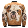 Buy Bulldog  over print jacket 2 - Familyloves hoodies t-shirt jacket mug cheapest free shipping 50% off