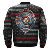 Buy FIREFIGHTER, BADGE OF HONOR OVER PRINT BOMBER JACKET - Familyloves hoodies t-shirt jacket mug cheapest free shipping 50% off