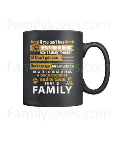 Buy NEWFOUNDLANDS DOG - MUGS - Familyloves hoodies t-shirt jacket mug cheapest free shipping 50% off