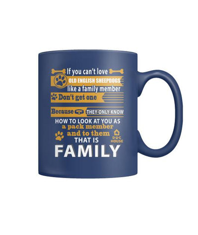 Buy OLD ENGLISH SHEEPDOGS DOG - MUGS - Familyloves hoodies t-shirt jacket mug cheapest free shipping 50% off