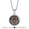 MARINE MOM MY SON IS A MARINE I'M PROUD Luxury Necklace