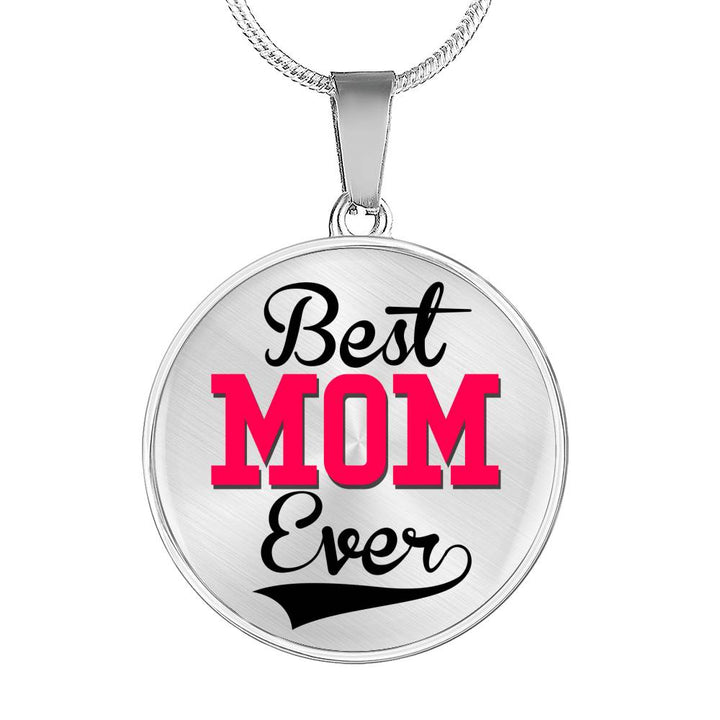 Buy Best Mom Ever Circle-Luxury Add Engraving Necklace & Bangle - Familyloves hoodies t-shirt jacket mug cheapest free shipping 50% off