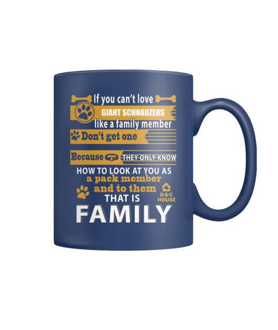 Buy GIANT SCHNAUZERS DOG - MUGS - Familyloves hoodies t-shirt jacket mug cheapest free shipping 50% off