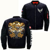 MOTOBIKE CLUB TIGER OVER PRINT JACKET