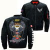 MOTOBIKE AMERICA'S HIGHWAY EAGLE OVER PRINT JACKET