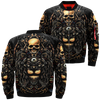 Skull and Lion over print jacket