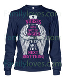 Nurses May Not Be Angels Tshirt