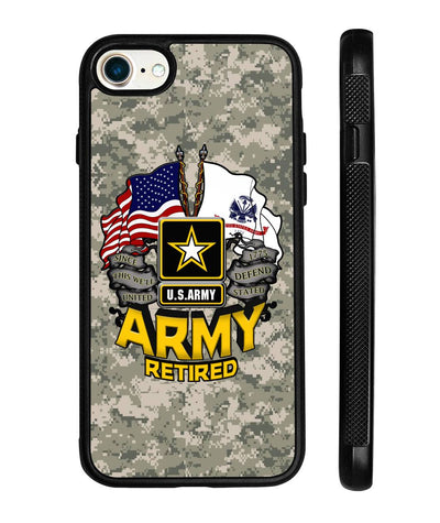 Army Retired iPhone cases