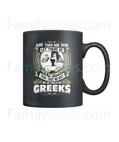 Buy GREEKS - MUGS - Familyloves hoodies t-shirt jacket mug cheapest free shipping 50% off