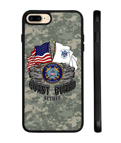 Coast Guard Retired iPhone cases