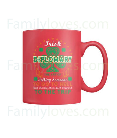 Buy IRISH  DIPLOMARY - MUGS St. Patricks shirt, St. Patrick's Day shirt, St. Patricks day, St Pattys day shirt, Sizes S-5XL - Familyloves hoodies t-shirt jacket mug cheapest free shipping 50% off