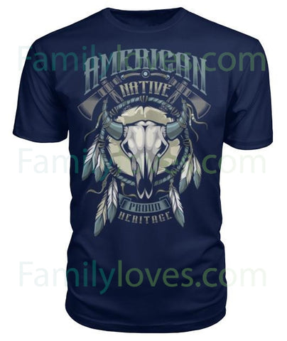 #1 NATIVE AMERICAN TSHIRTFamilyloves