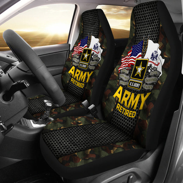 U S Army Retired Car Seat Covers Familyloves