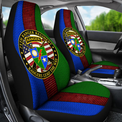 Buy 75th Ranger Regiment Car Seat Covers - Familyloves hoodies t-shirt jacket mug cheapest free shipping 50% off
