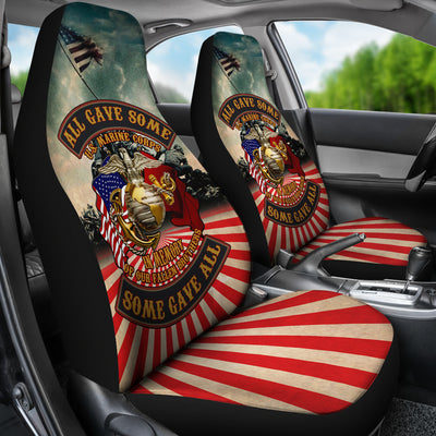 Buy all gave some some gave all u.s marine corps car seat cover - Familyloves hoodies t-shirt jacket mug cheapest free shipping 50% off