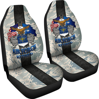 U.S Air Force Retired Car Seat Covers