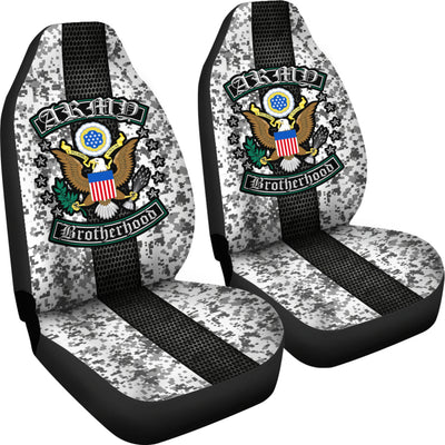 Buy Army Brotherhood Car Seat Covers - Familyloves hoodies t-shirt jacket mug cheapest free shipping 50% off
