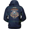 AIR FORCE MOM, MY SON MY AIRMAN MY HERO HOODIE