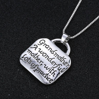 Buy Grandmother Necklace Jewelry - Familyloves hoodies t-shirt jacket mug cheapest free shipping 50% off