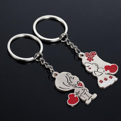 Buy Cartoon Key chain Lovers Valentines Gift - Familyloves hoodies t-shirt jacket mug cheapest free shipping 50% off