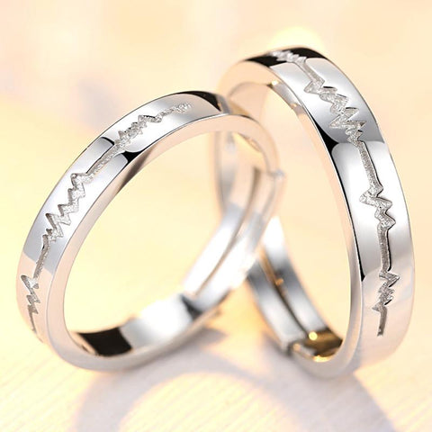 Valentines Gift  Wedding  Rings CouplesFamilyloves