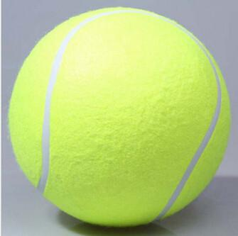 1PC 24CM Big Inflatable Tennis Ball Giant Pet Toy Tennis Ball Dog Chew Toy Signature Mega Jumbo Kids Toy Ball Outdoor SuppliesFamilyloves