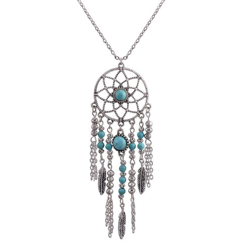 Native American Fringe Necklaces