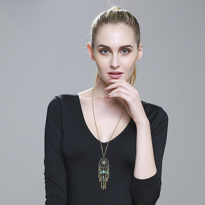 Buy Dreamcatcher Native American Fringe Necklaces - Familyloves hoodies t-shirt jacket mug cheapest free shipping 50% off