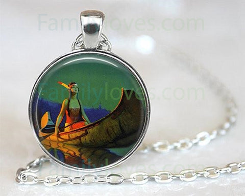 Native American Pendant NecklaceFamilyloves