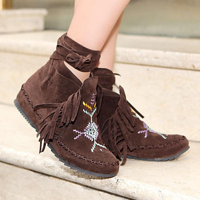 Buy Womens Ankle boots Flat Casual Women shoes - Familyloves hoodies t-shirt jacket mug cheapest free shipping 50% off