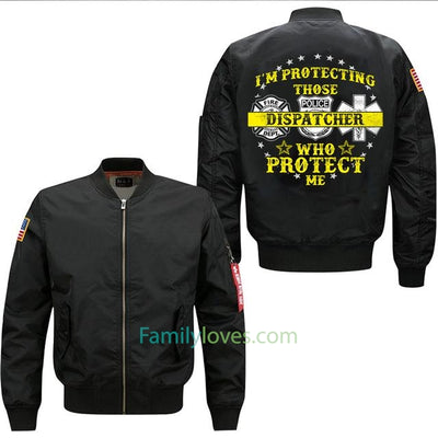 Buy 2017 new I AM PROTECTING spring men's flight jacket - Familyloves hoodies t-shirt jacket mug cheapest free shipping 50% off