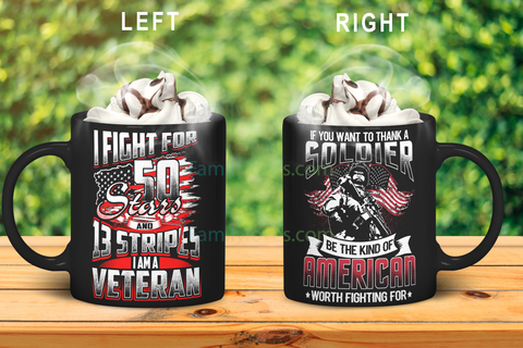 If you want to thank a soldiersoldier be the kind ofof american mug and veteran mug