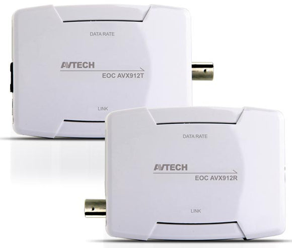 AVTECH AVX912 KIT EoC (Ethernet over Coaxial) (Πομπός-Δέκτης) - ideashop.gr