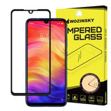 Tempered Glass - Τζαμάκι / Γυαλί Οθόνης 9H Wozinsky - Full Cover Case Friendly Full Glue Μαύρο - Xiaomi Redmi Note 7 - iThinksmart.gr