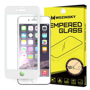 Tempered Glass - Τζαμάκι / Γυαλί Οθόνης Full Face 5D - iPhone 6/6s - Λευκο - iThinksmart.gr