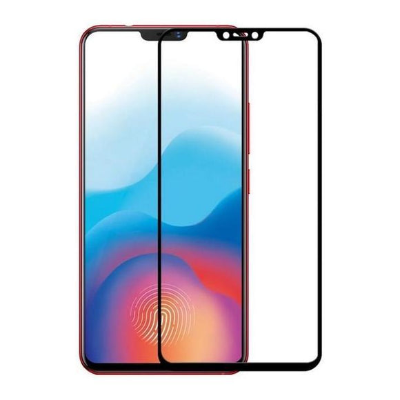 Tempered Glass - Τζαμάκι / Γυαλί Οθόνης Full Cover Μαυρο - Xiaomi Redmi Note 6 (Pro) - iThinksmart.gr