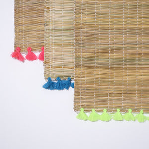Sets de table pompons