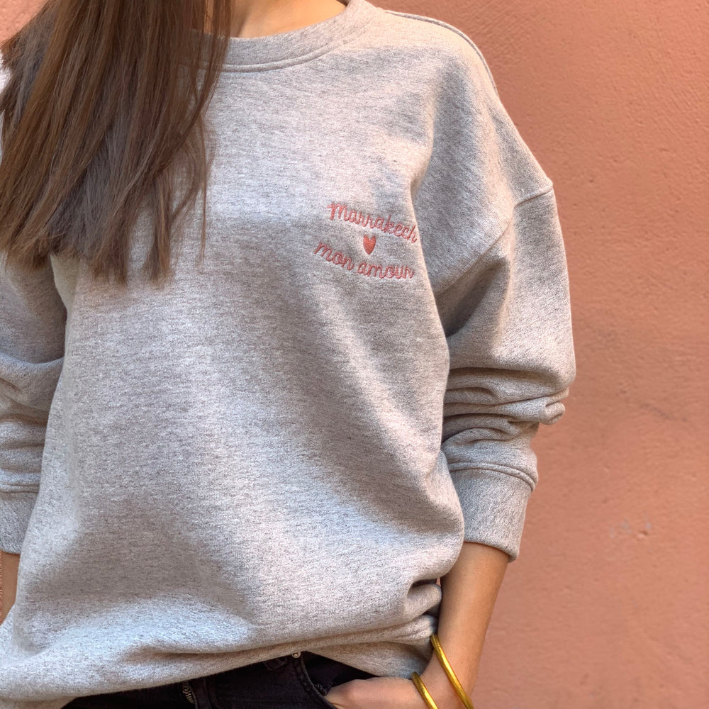 "Sweat ""Marrakech mon amour"""