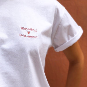 "Tee-shirt ""Marrakech mon amour"" - Sook Paris"
