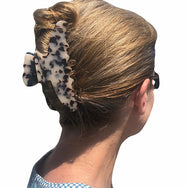 HAIR FLAIR | Premium Extra Large Hair Claw in Light Turtle