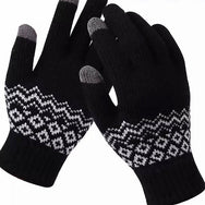 HAIR FLAIR | Touchscreen Gloves - Woolblend swiss