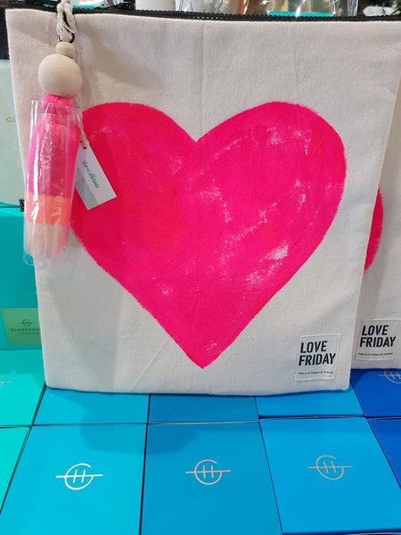 Love Friday | CANBERRA (neon pink heart)
