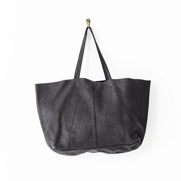 JUJU & CO | Unlined Leather Tote