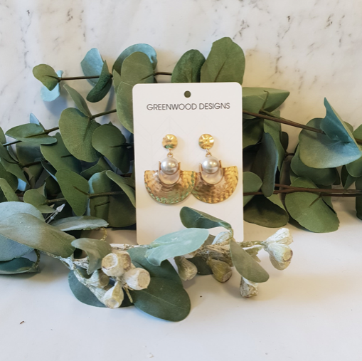 GREENWOOD DESIGNS | Cleo earrings (Silver or Gold)
