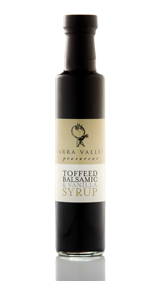 YARRA VALLEY | Toffeed Balsamic & Vanilla Syrup (250ml)