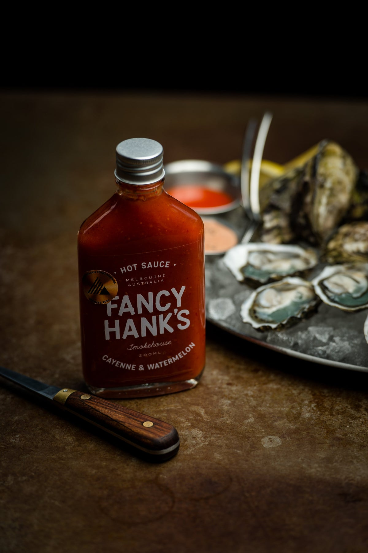 FANCY HANKS | Cayenne & Watermelon Hot Sauce (200ml)