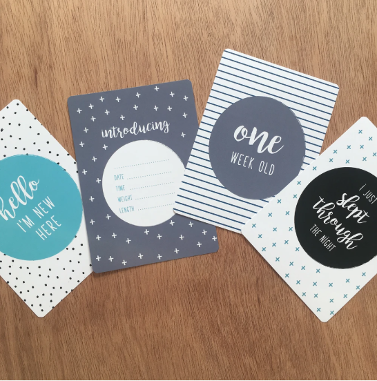 Milestone Cards | Spots & Stripes Mint